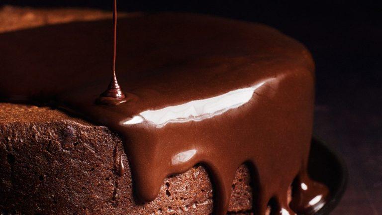 Sjajna čokoladna glazura
